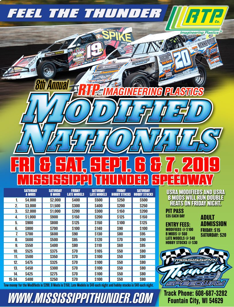 photograph relating to Thunder Schedule Printable referred to as MISSISSIPPI THUNDER SPEEDWAY - 2019 Information ::