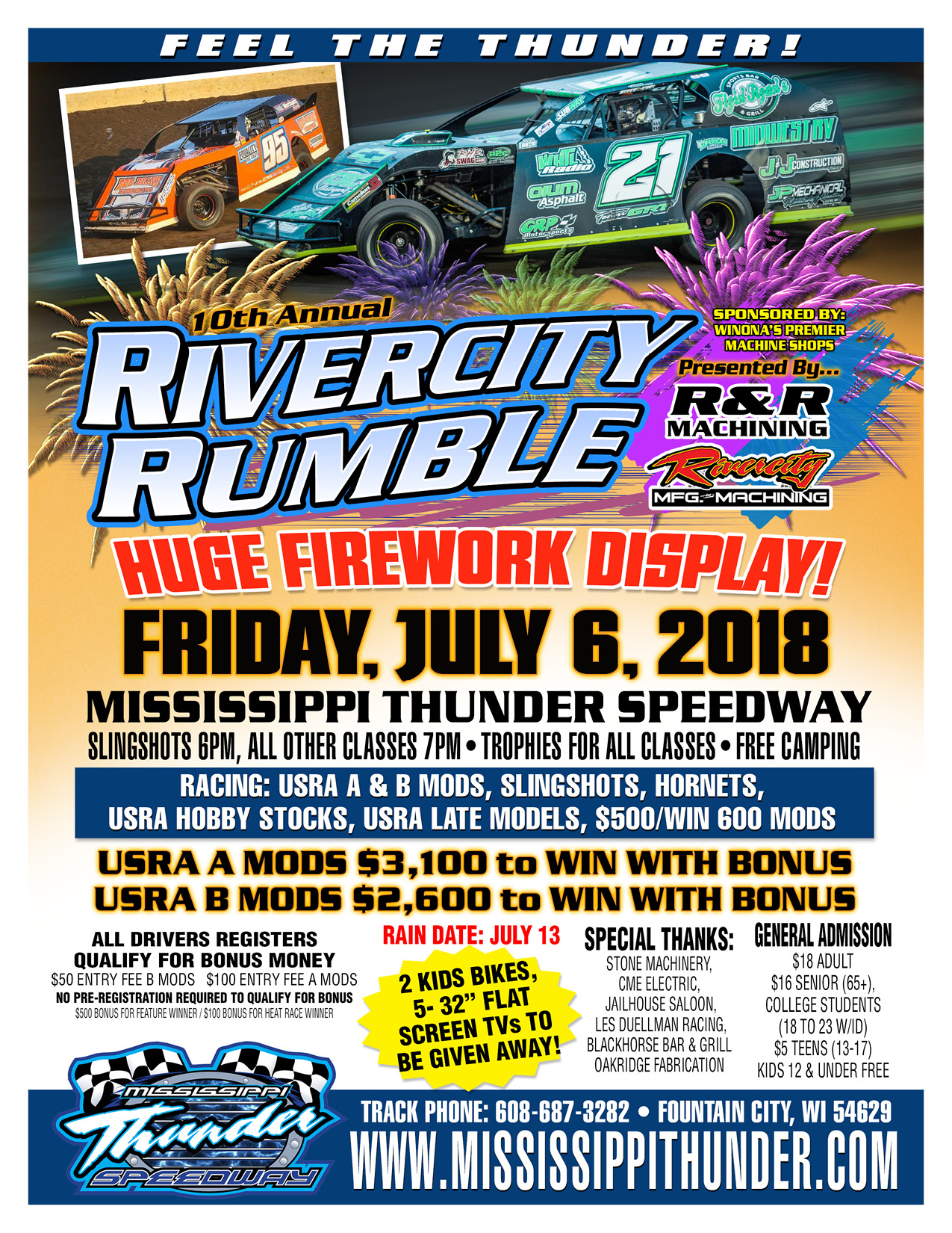 Rivercity Rumble poster!