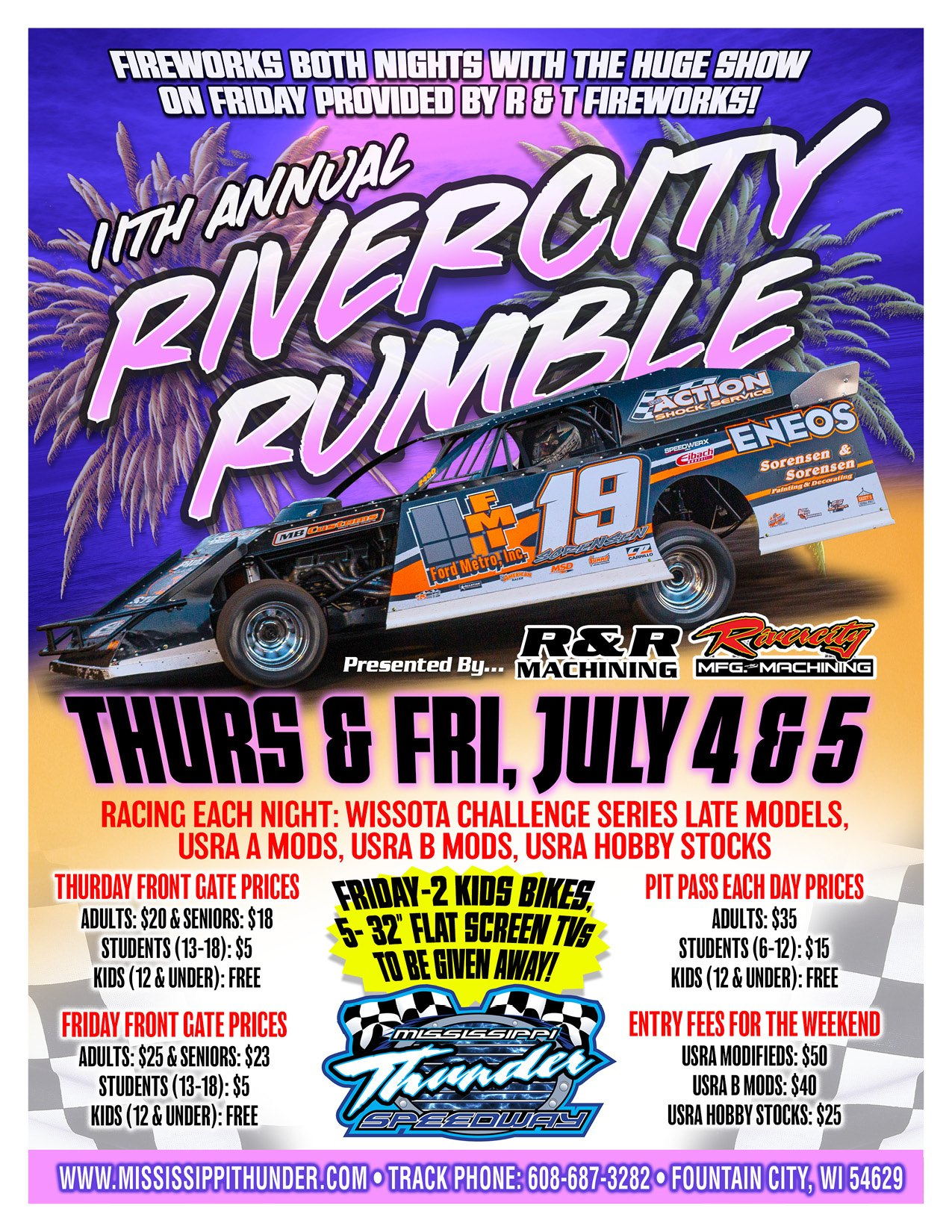 2019 Rivercity Rumble Flyer