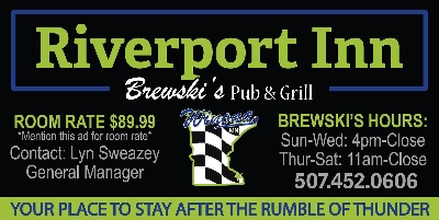 Riverport INN & Suites!